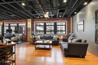 Peachtree Lofts Condo/Townhouse Under Contract: 878 Peachtree St #411