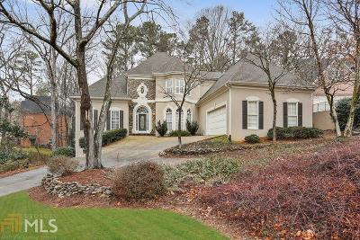 Roswell Single Family Home Under Contract: 12170 Wildwood Springs Dr