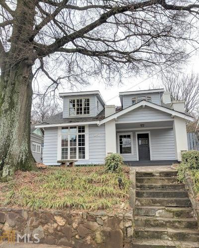 Old Fourth Ward Single Family Home Under Contract: 349 Irwin St