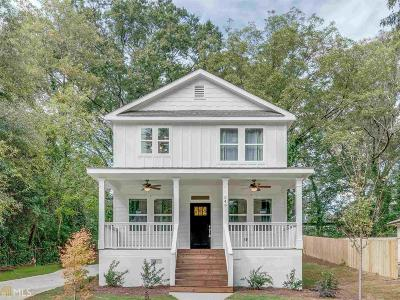 Hapeville Single Family Home Under Contract: 549 Woodrow