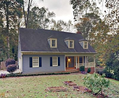 Stone Mountain Single Family Home Under Contract: 1406 Sagewood Cir