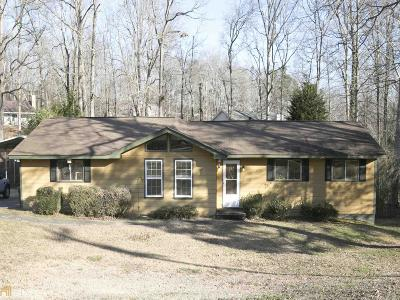 Buford Single Family Home Under Contract: 2876 Springlake Dr