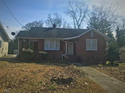 Elberton GA Single Family Home Under Contract: $99,900