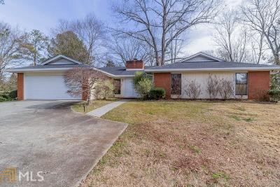Lilburn Single Family Home Under Contract: 1398 Somerset Way