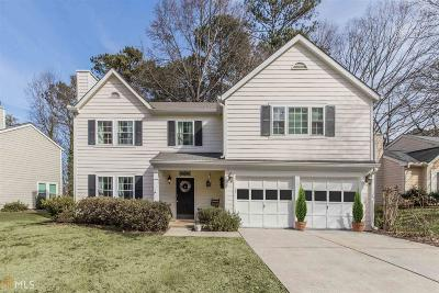 Johns Creek Single Family Home Under Contract: 10485 Virginia Pine