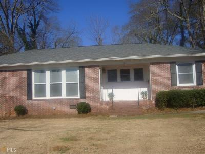 Barnesville Single Family Home Under Contract: 124 Houston St