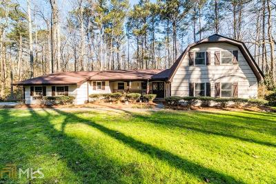 Stone Mountain Single Family Home Under Contract: 5490 Leather Stockings Ln