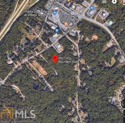 Flowery Branch Residential Lots & Land For Sale: 4907 Hog Mountain Rd