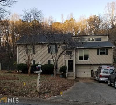 Acworth Single Family Home Under Contract: 1140 Reading Dr