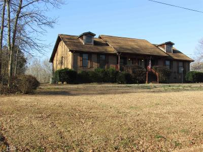 Elbert County, Franklin County, Hart County Single Family Home Under Contract: 1521 Memorial Rd