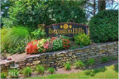 Sandy Springs Condo/Townhouse Under Contract: 503 Barrington Hills