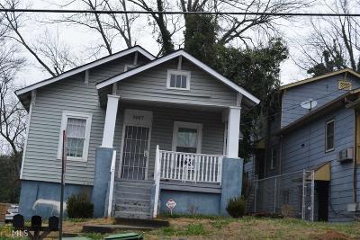 Atlanta Multi Family Home Under Contract: 1007 SW Fair St