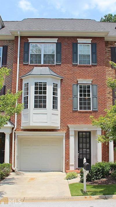 Peachtree City Condo/Townhouse For Sale: 44 American Walk