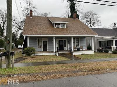 Winder Multi Family Home Back On Market: 92 Woodlawn Ave