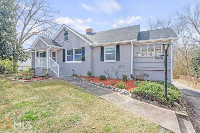 College Park Single Family Home Under Contract: 5745 Stonewall Tell Rd