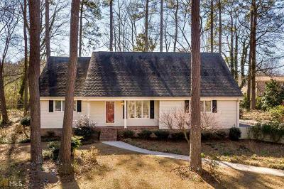 Lithia Springs Single Family Home For Sale: 3928 Evans Dr