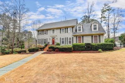 Kennesaw Single Family Home For Sale: 186 NW Lakeside Dr