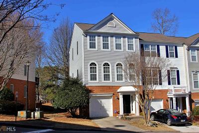 Alpharetta Condo/Townhouse Under Contract: 13136 Fasherstone Dr