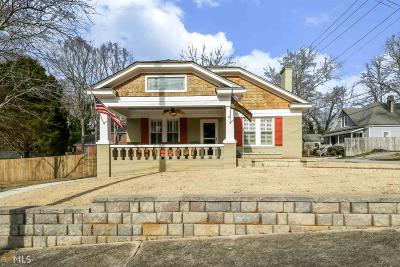 Newnan Single Family Home For Sale: 61 West Washington St
