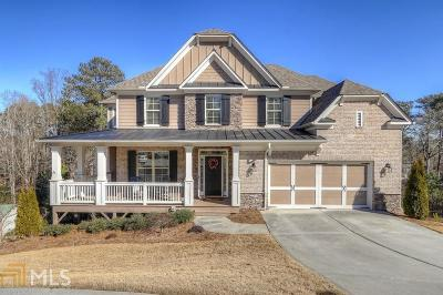Roswell Single Family Home Under Contract: 165 Pineridge Way