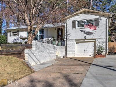 Chamblee Single Family Home Under Contract: 3881 Longview Dr