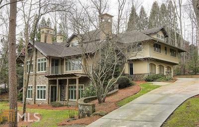 Alpharetta, Milton, Roswell Single Family Home For Sale: 355 High Bridge Chase