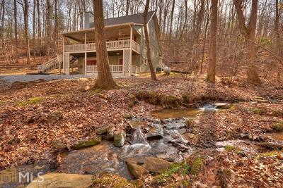 Ellijay Single Family Home Under Contract: 521 Lemmon Ln