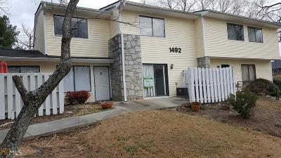 Conyers Condo/Townhouse For Sale: 1492 Pine Log Rd #E