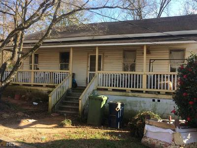 Griffin Single Family Home For Sale: 332 Central Ave