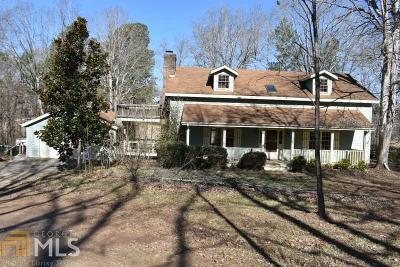 Dawsonville Single Family Home Under Contract: 1619 Price Rd
