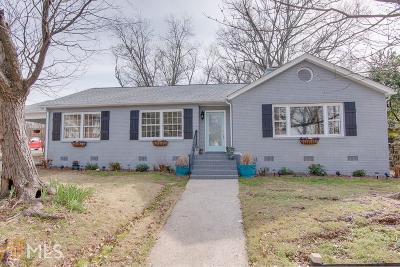 Hapeville Single Family Home For Sale: 3624 Union Ave