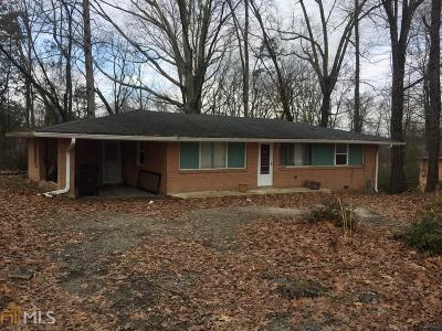 Douglasville Single Family Home For Sale: 8065 Highway 92