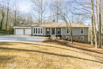 Woodstock Single Family Home For Sale: 2941 Trickum Rd
