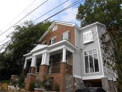 Old Fourth Ward Single Family Home For Sale: 226 Corley St