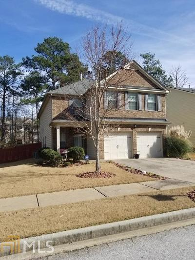 Lithonia Single Family Home For Sale: 3450 Stoneleigh Walk