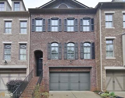Alpharetta Condo/Townhouse Under Contract: 12026 Orchid Ln