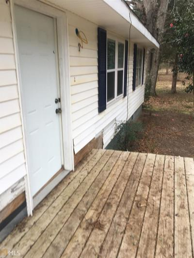 Senoia Single Family Home Under Contract: 1144 Rowe
