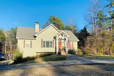 Banks County Single Family Home Under Contract: 4004 Old Highway 441