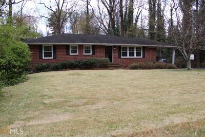 Historic Marietta Single Family Home Under Contract: 357 Polk St
