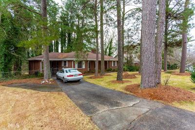 Decatur Single Family Home New: 424 E Pharr Rd