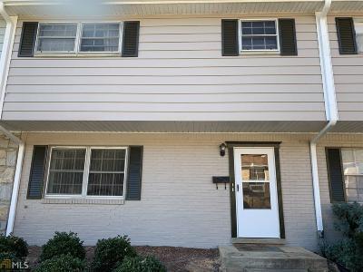 Union City Condo/Townhouse For Sale: 4701 Flat Shoals Rd #14C