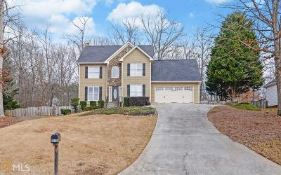 Flowery Branch Single Family Home Under Contract: 6606 Firelight Ln