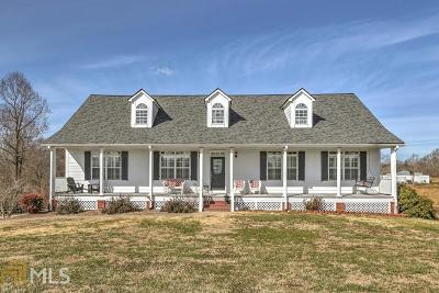 Cornelia Single Family Home Under Contract: 2415 Pea Ridge Rd