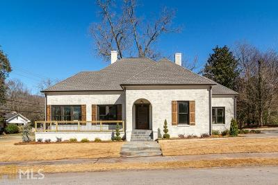 McDonough Single Family Home For Sale: 101 Brown Ave