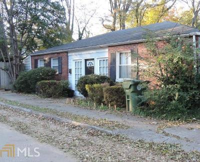 Dekalb County Multi Family Home For Sale: 595 Brownwood Ave