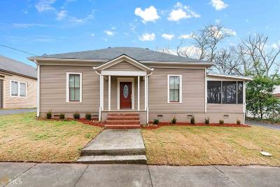 Cartersville Single Family Home For Sale: 121 Leake St