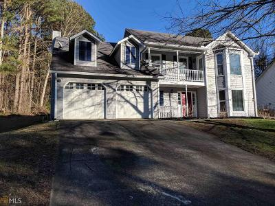 Kennesaw Single Family Home Under Contract: 4782 Shallow Ridge Rd