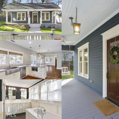 Historic Marietta Single Family Home New: 583 Etowah Dr