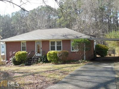 Acworth Single Family Home For Sale: 4299 Hillcrest Dr