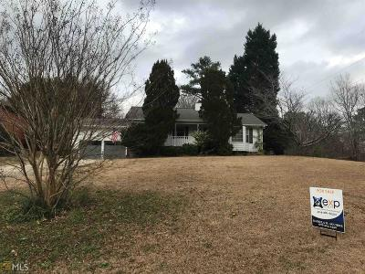 Stockbridge Single Family Home Under Contract: 133 Oakland Blvd